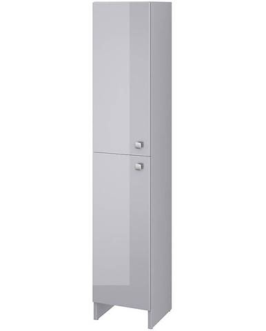 Vysoká skříňka šedá Rubid 2D0S 30