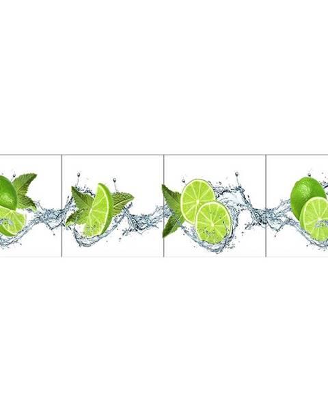 MERKURY MARKET Skleněný panel 60/240 Citrus-White 4-Elem