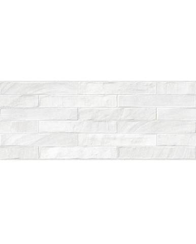 Nástěnný obklad Brick XL blanco rekt. 25/75