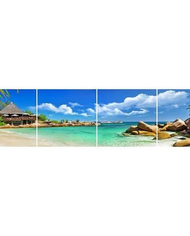 Skleněný panel 60/240 Tropic-1 4-Elem
