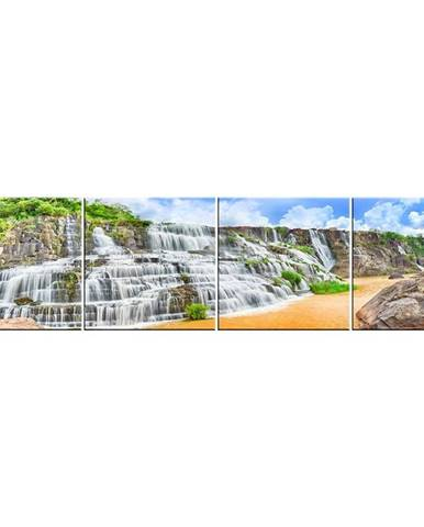 Skleněný panel 60/240 Waterfall-4 4-Elem