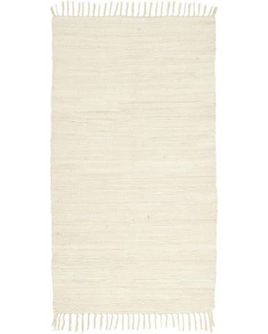 Hadrový Koberec Julia 2, 70/130cm, Krémová