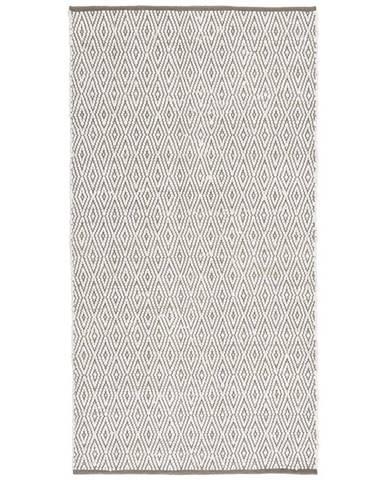 Ručně Tkaný Koberec Carmen 1, 60/120cm, Šedá