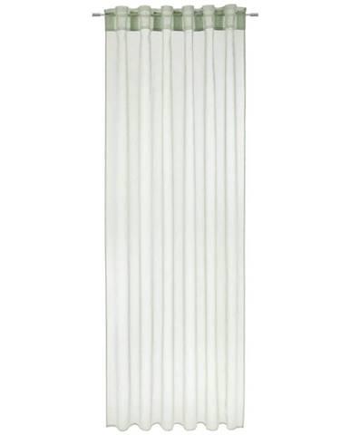 Závěs Tosca, 2x140/245cm, Sv.zelená