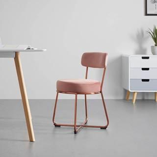 Jídelní Židle Pamela Růžová