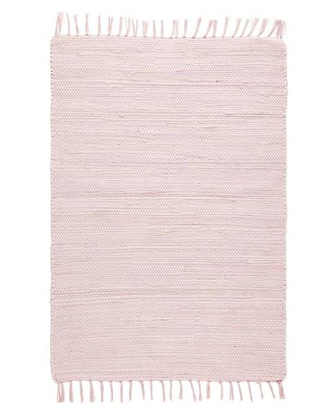Möbelix Hadrový Koberec Julia 2, 70/130cm, Růžová
