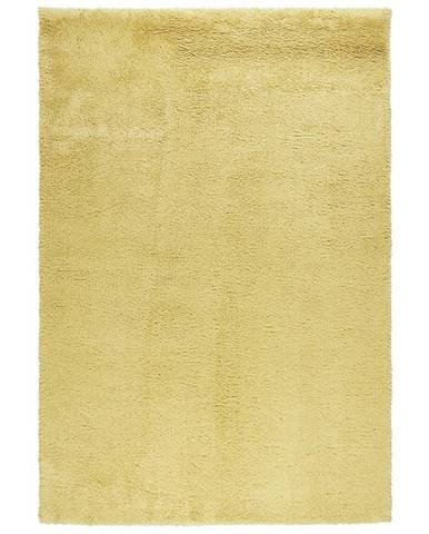 Shaggy Koberec Stefan 3, 160/230cm, Žlutá