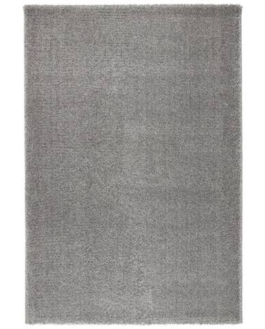 Tkaný Koberec Rubin 1, 80/150cm, Sv.šedá