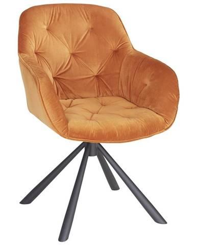 Židle Eileen Oranžová