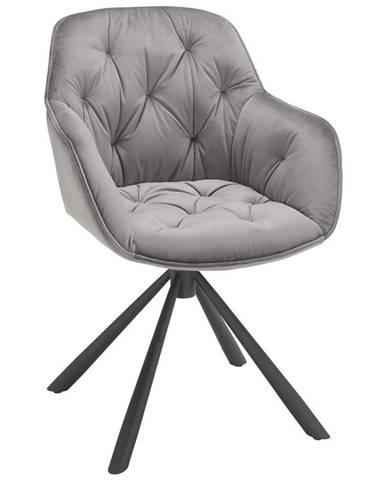 Židle Eileen Šedá