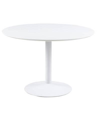 Kulatý Jídelní Stůl Ibiza, Ø 110 Cm, Bílý