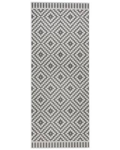 Koberec Tkaný Na Plocho Soho, 80/200cm, Černá