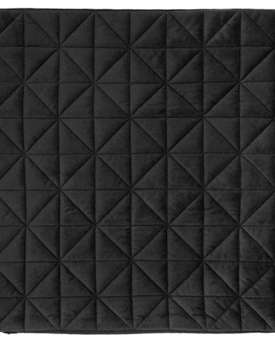 Povlak Na Polštář Mary Samt, 45/45cm, Černá