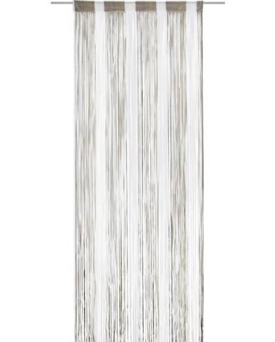 Provázková Záclona String, 90/245cm, Vícebarevné