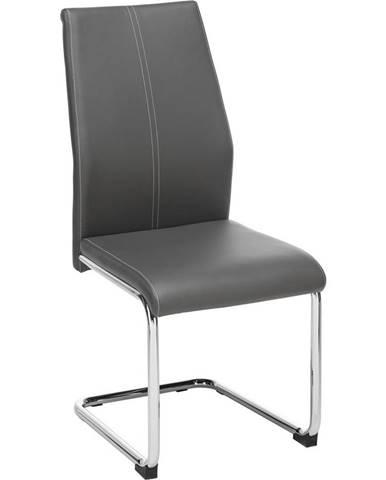 Židle Eni-based Šedá