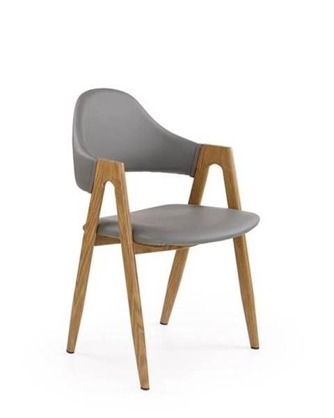 Halmar Halmar Jídelní židle K247, šedá