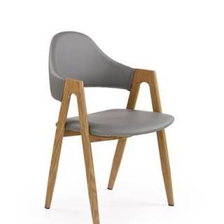 Halmar Jídelní židle K247, šedá
