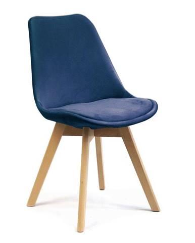 ADK Trade s.r.o. Jídelní židle Felman, tmavě modrá