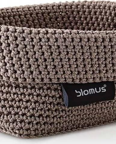 Hnědý úložný košík Blomus Rope, 10 x 15,5 cm