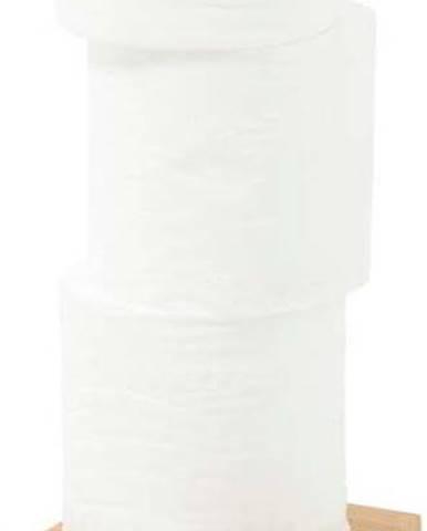Stojan na toaletní papír z dubového dřeva Wireworks Cosmos