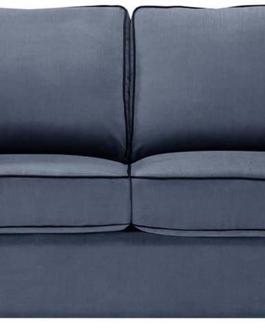 Modrá rozkládací pohovka Jalouse Maison Serena