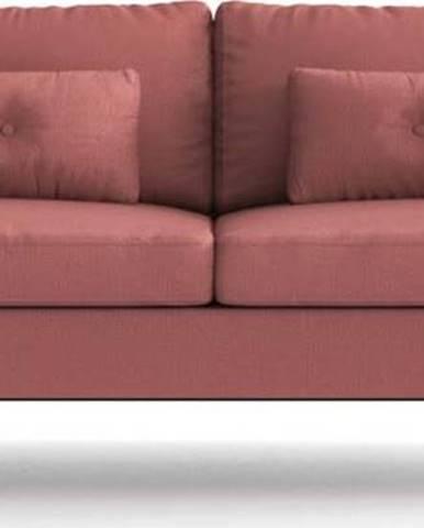 Růžově červená rozkládací pohovka Daniel Hechter Home Alchimia