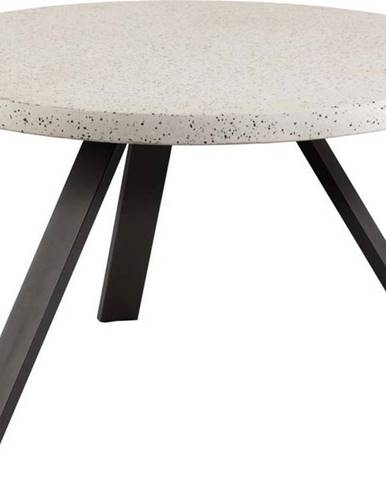 Zahradní jídelní stůl s terrazzo deskou La Forma Shanelle, ⌀ 120 cm