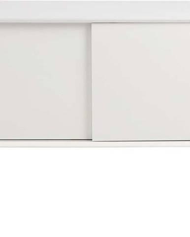 Bílá dvoudveřová komoda Actona Mitra