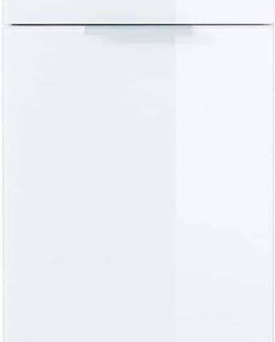 Bílo-šedá skřínka Germania Pescara,výška 86cm