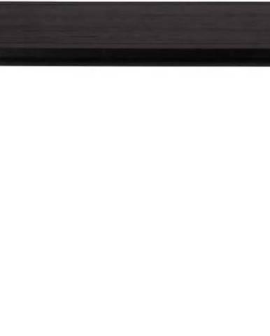 Černý jídelní stůl Zuiver Storm, 180x90cm