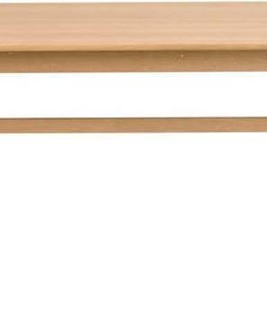 Dubový jídelní stůl Rowico Tobermory, 215 x 90 cm
