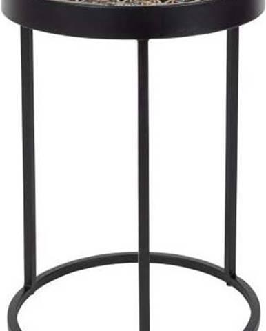 Kovový odkládací stolek Dutchbone Sari, ⌀ 33 cm