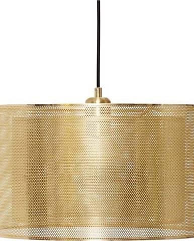Závěsné svítidlo ve zlaté barvě Hübsch Karimo