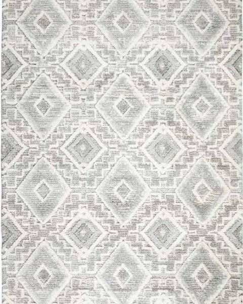 Flair Rugs Světle šedý koberec Flair Rugs Victoria, 80 x 150 cm