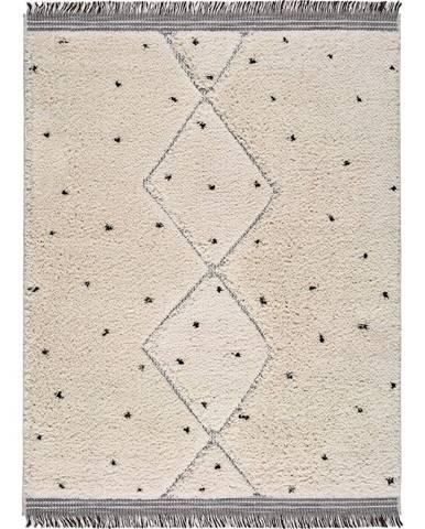 Béžový koberec Universal Horizon Dots, 152 x 230 cm