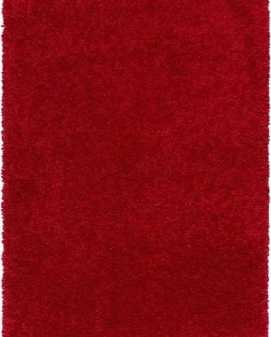 Červený koberec Universal Aqua Liso, 100 x 150 cm