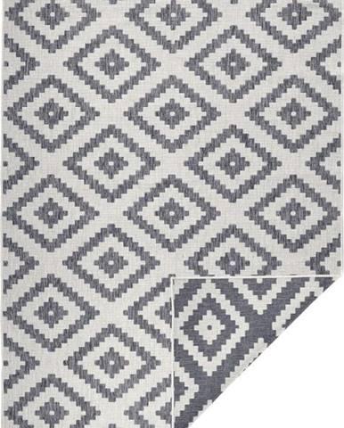 Šedý venkovní koberec Bougari Malta, 160x230 cm