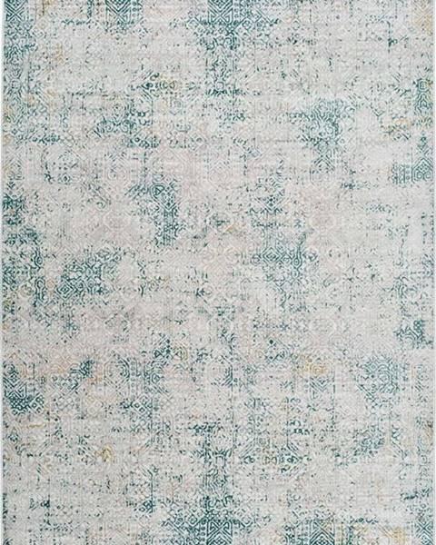 Universal Šedo-modrý koberec Universal Babek, 133 x 195 cm
