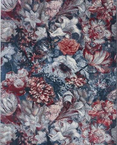 Modro-červený koberec Mint Rugs Symphony, 160 x 230 cm