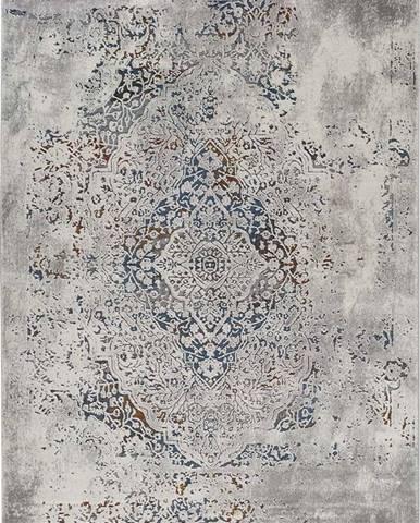 Šedý koberec Universal Irania Vintage, 200 x 290 cm