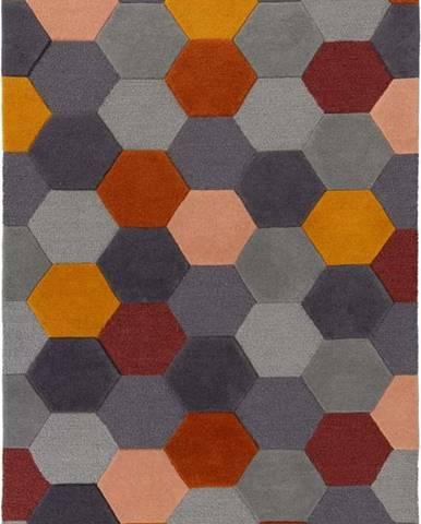 Vlněný koberec Flair Rugs Munro, 120 x 170 cm