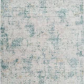 Šedo-modrý koberec Universal Babek, 133 x 195 cm