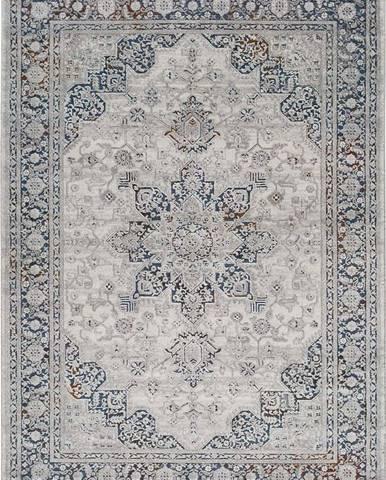 Šedý koberec Universal Graceful Ornament, 140 x 200 cm