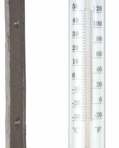 Litinový nástěnný teploměr Ego Dekor Dekor Bird, výška27,3cm