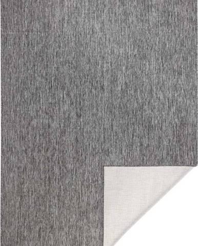 Šedý venkovní koberec Bougari Miami, 200x290 cm
