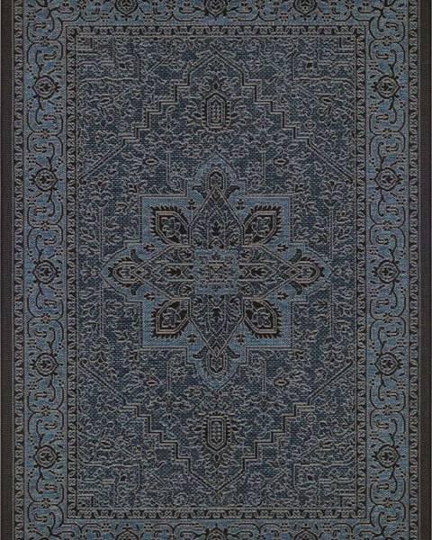 Bougari Černo-šedý venkovní koberec Bougari Anjara, 160 x 230 cm