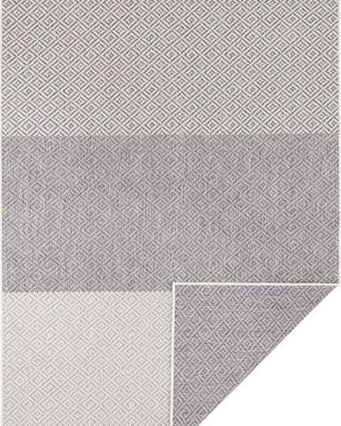 Bougari Světle šedý oboustranný venkovní koberec Bougari Maui, 80 x 150 cm