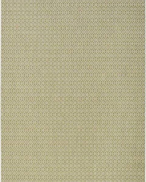 Bougari Zelený venkovní koberec Bougari Coin, 200x290cm