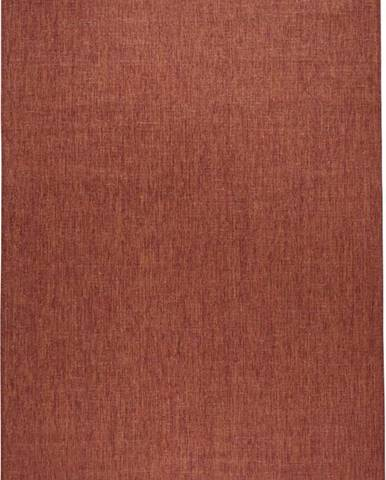 Cihlově červený venkovní koberec Bougari Miami, 120x170 cm