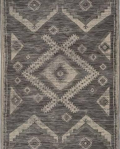 Šedý venkovní koberec Universal Devi Ethnic, 160 x 230 cm